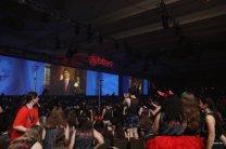 US Ambassador to the UN, Nikki Haley, addresses the convention body.