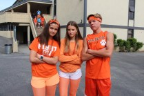 Juniors looking fierce for the rally.