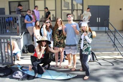 These second semester seniors shakkah their way through their last spirit week.