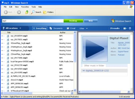Windows Search 4.0