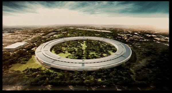 campus apple Apple podrá construir su campus con forma de nave espacial