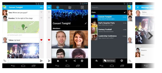 groupme 5 alternativas gratis a WhatsApp