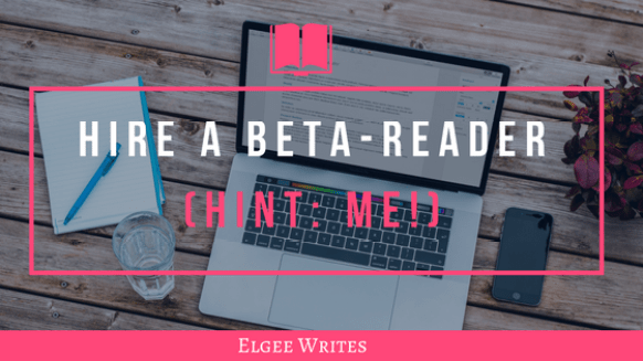 Professional beta reader Cover