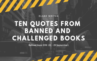 Ten Quotes From Banned And Challenged Books