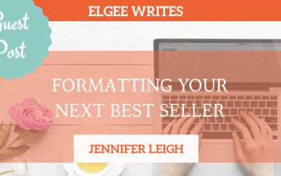 Indie Guest Post: Formatting Your Next Best Seller