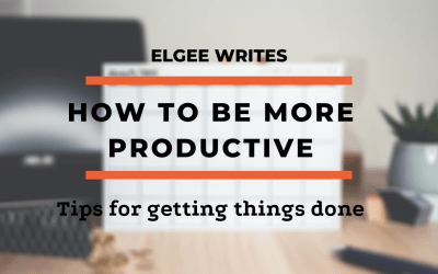 How to be more productive in life: Tips to getting things done