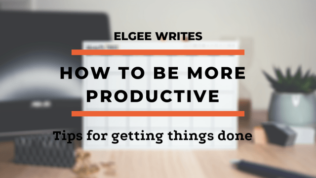 be more productive in life Cover