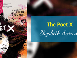 Feature Poet X Elizabeth Acevedo review