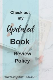 review policy Elgee writes Pinterest