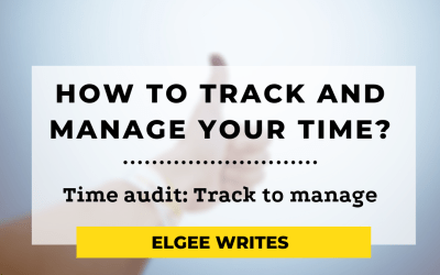 Time Audit: Track to manage your time (Free Template)