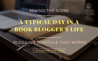 A typical day of a book blogger – Blogging schedule