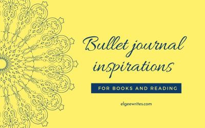 Bullet journal ideas for books and reading