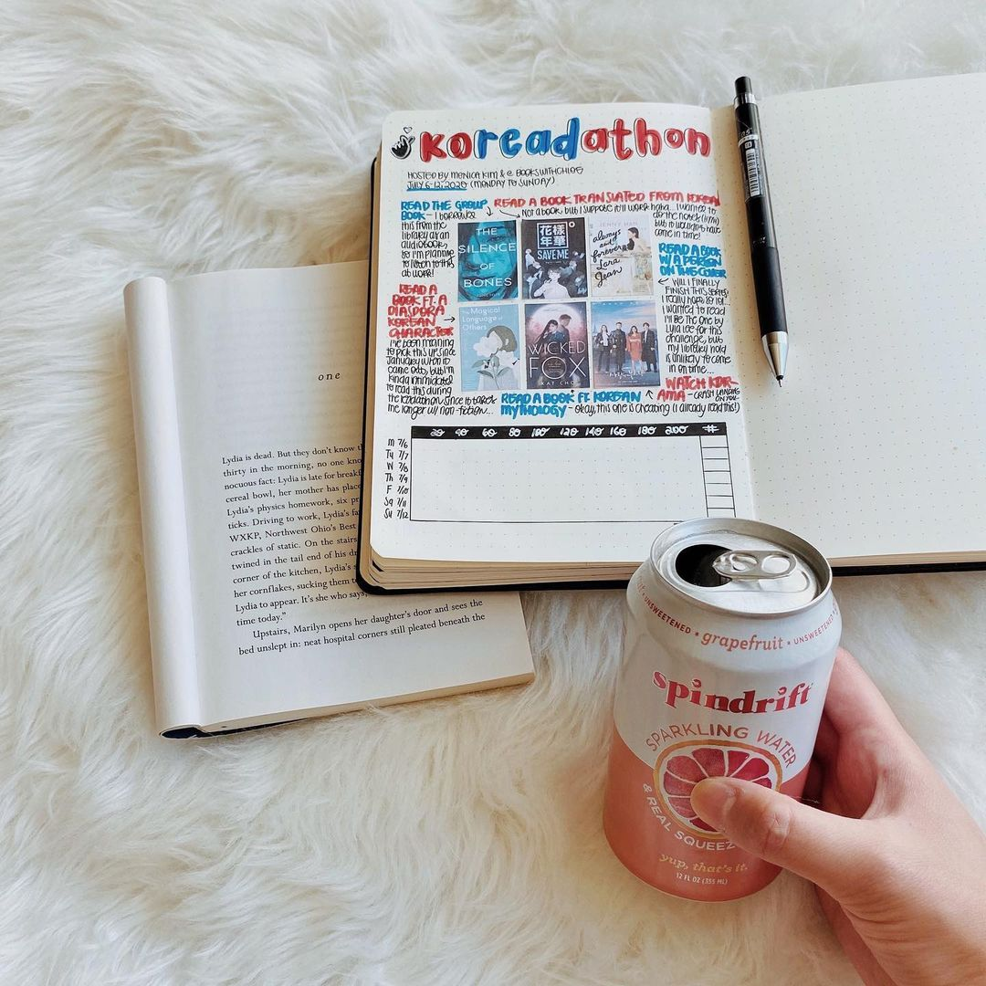 Bullet journal ideas tracking your reads