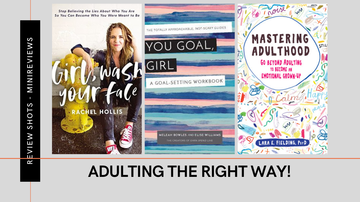 Adulting self help books Review Featured