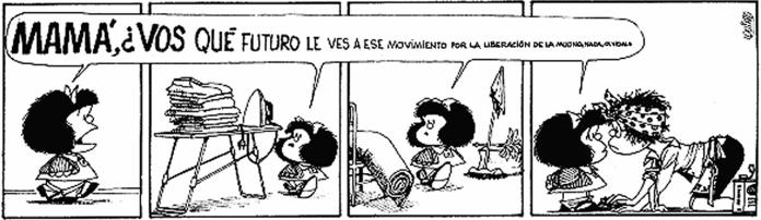 Mafalda feminista. Mafalda revolución