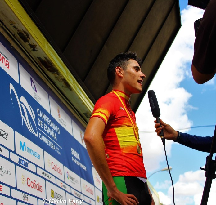 Jon Barrenetxea, la promesa del ciclismo español