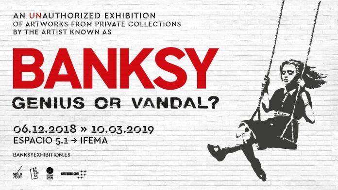 La exposición no autorizada de Banksy abre sus puertas en Madrid