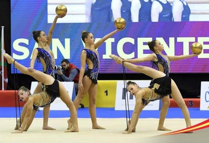 Murcia se convierte en la capital de la gimnasia rítmica nacional