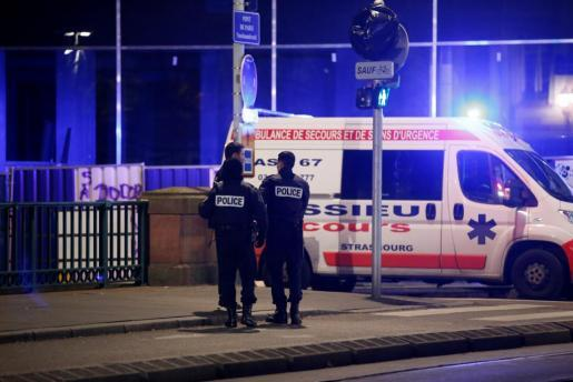 Cuatro muertos por un tiroteo en Estrasburgo