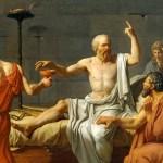 La muerte de socrates. David