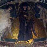 Epígrafe de Virgen María en mosaico de iglesia en Chipre plantea un enigma