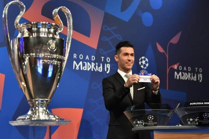 Sorteo de octavos de final de la Champions League