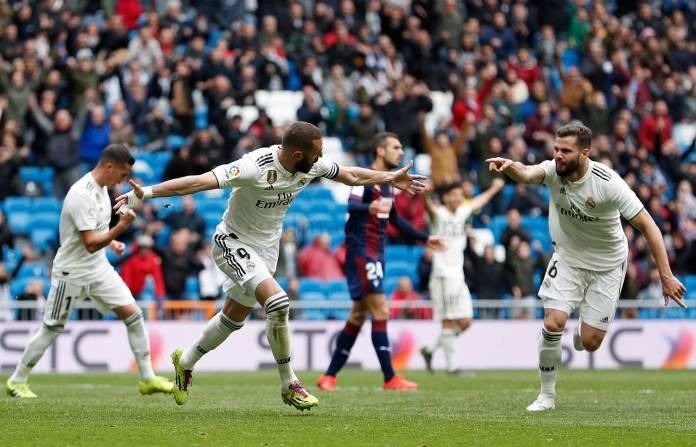 Benzema salva al Madrid