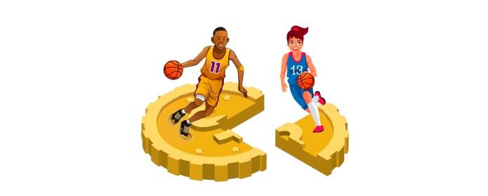 Brecha salarial en el deporte