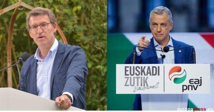 Feijóo revalida su cuarta mayoría absoluta y Urkullu tendrá que pactar con el PSOE
