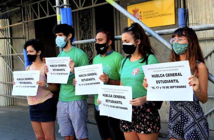 """Revolución estudiantil por """"la vuelta al cole"""""""