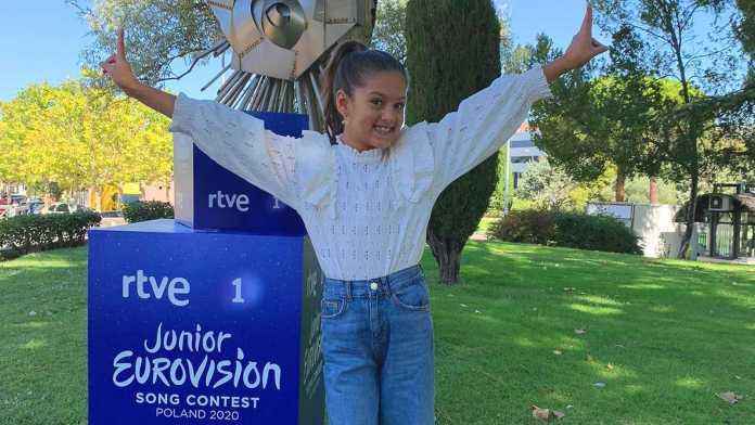Soleá Fernández, representante de España en Eurovisión Junior 2020