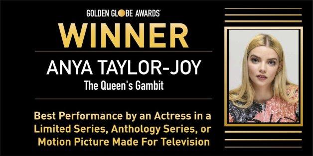 Anya Taylor Joy Globos de Oro