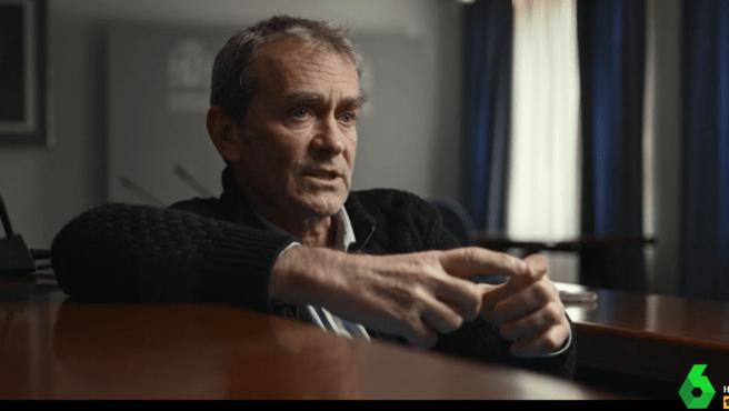 Fernando Simón durante la entrevista con Jordi Évole | Fuente: La Sexta