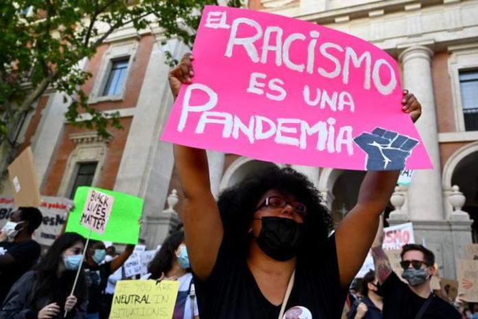 Manifestación Racismo