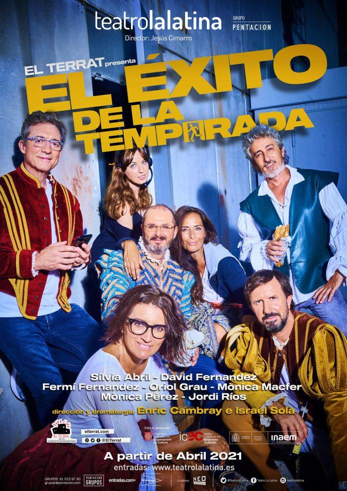 Cartel de El éxito de la temporada | Fuente: Teatro La Latina