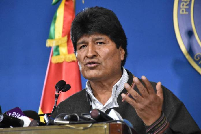 Evo Morales, expresidente de Bolivia. ABI EUROPA PRESS