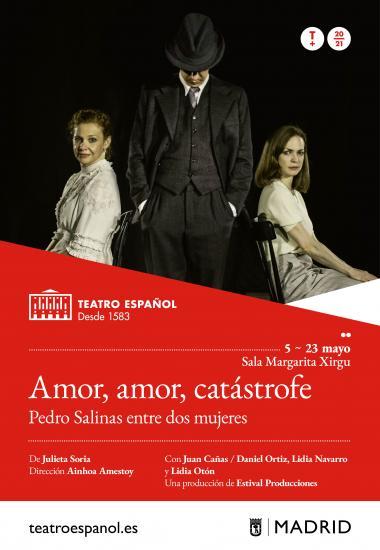 'Amor, amor, catástrofe' vuelve a representarse esta vez en el Teatro Español