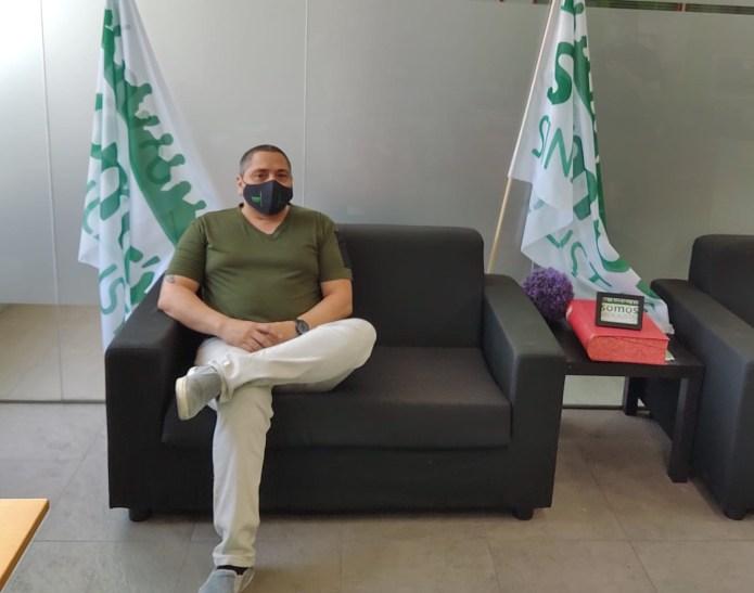 Jorge Collantes, de SOMOS Sindicalistas: «Nuestra existencia depende de que lo hagamos bien»