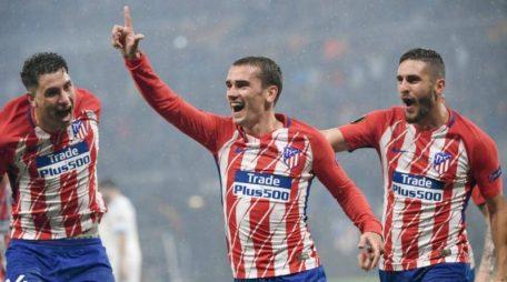 Griezmann en su primera etapa en el Atlético   Fuente: DDC
