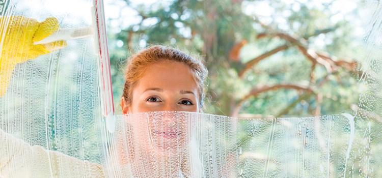 Cómo limpiar las ventanas de aluminio