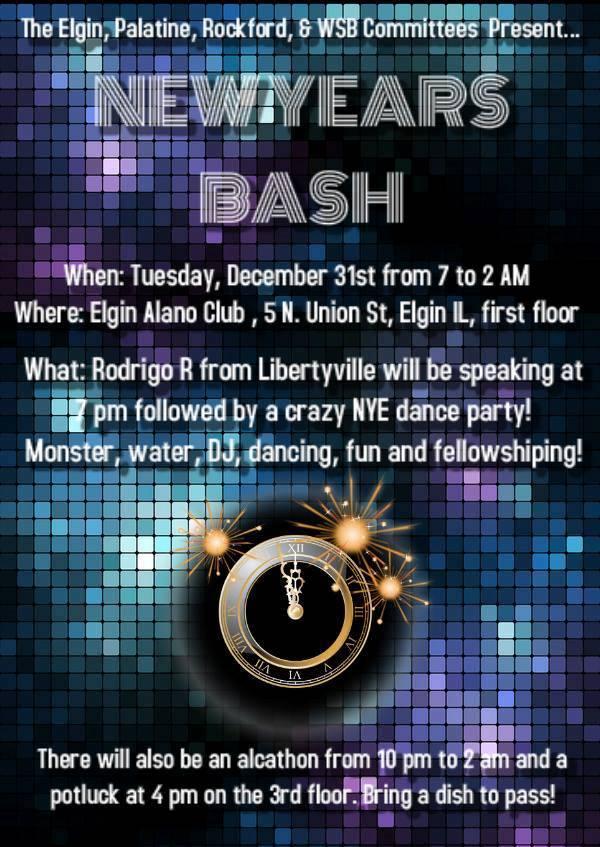 New Years Eve Mega Bash!!!  1