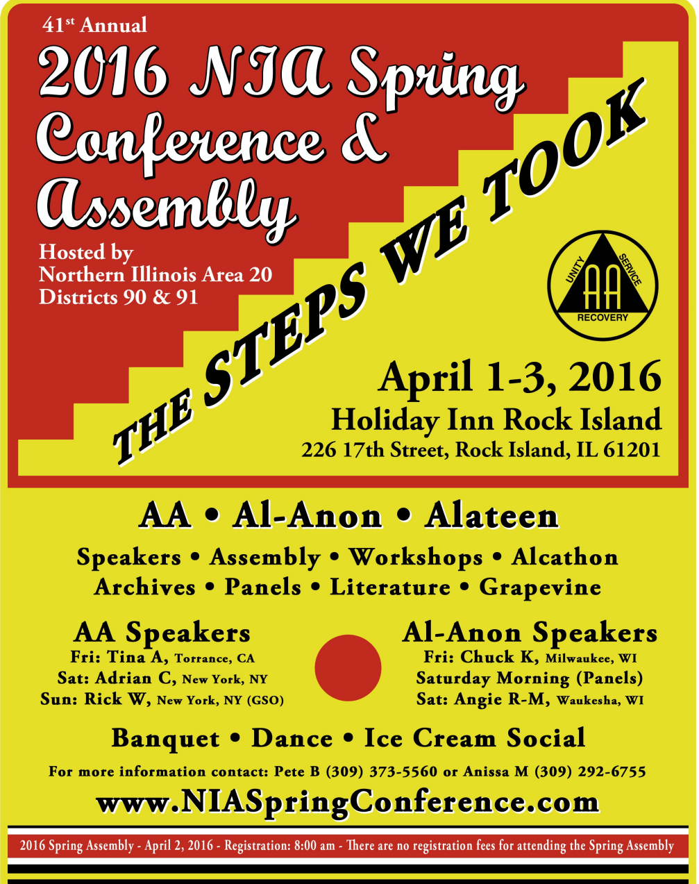 2016 NIA Spring Conference and Assembly 1