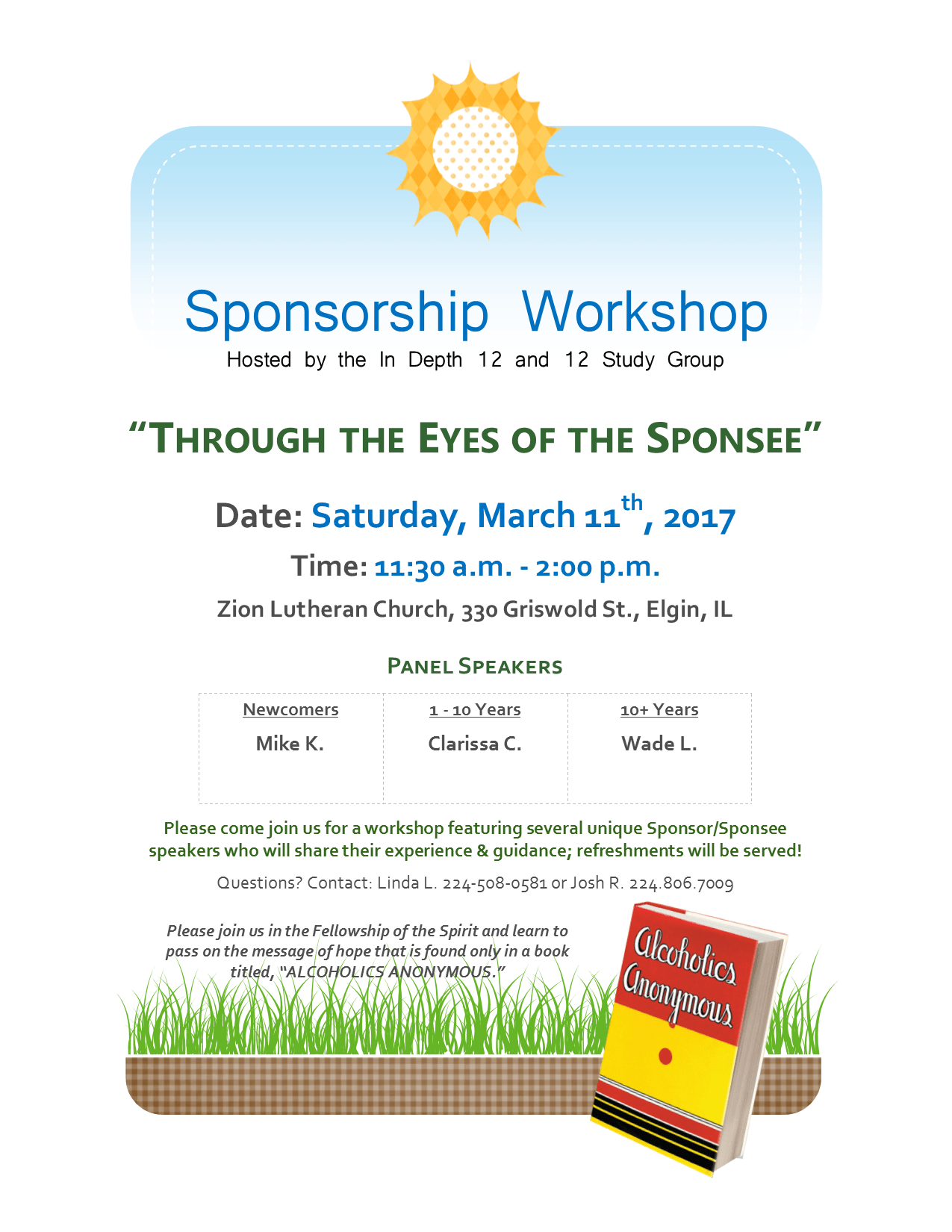 Sponsorship Workshop - Through the Eyes of the Sponsee 1