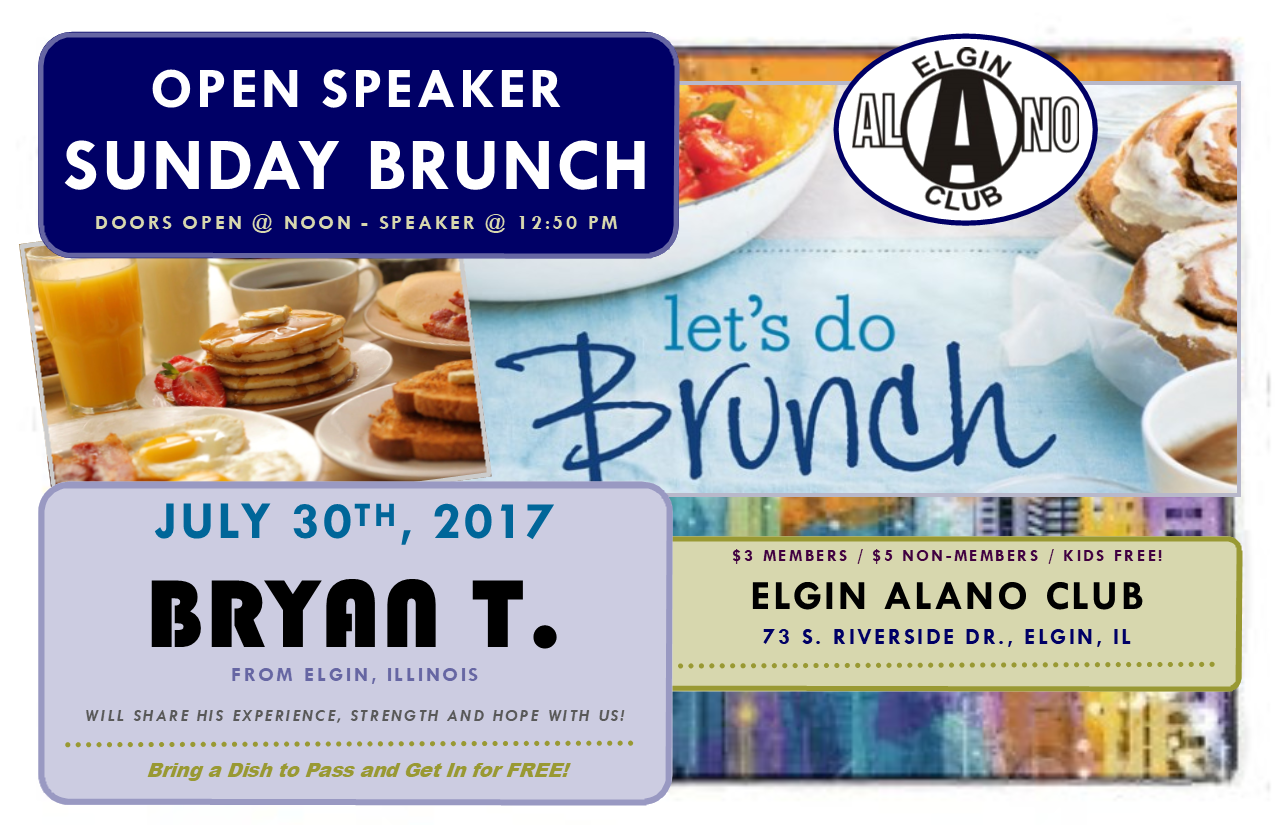 Sunday Open Speaker Brunch 1