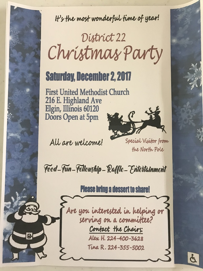 District 22 Christmas Party - 12.2.2017 1