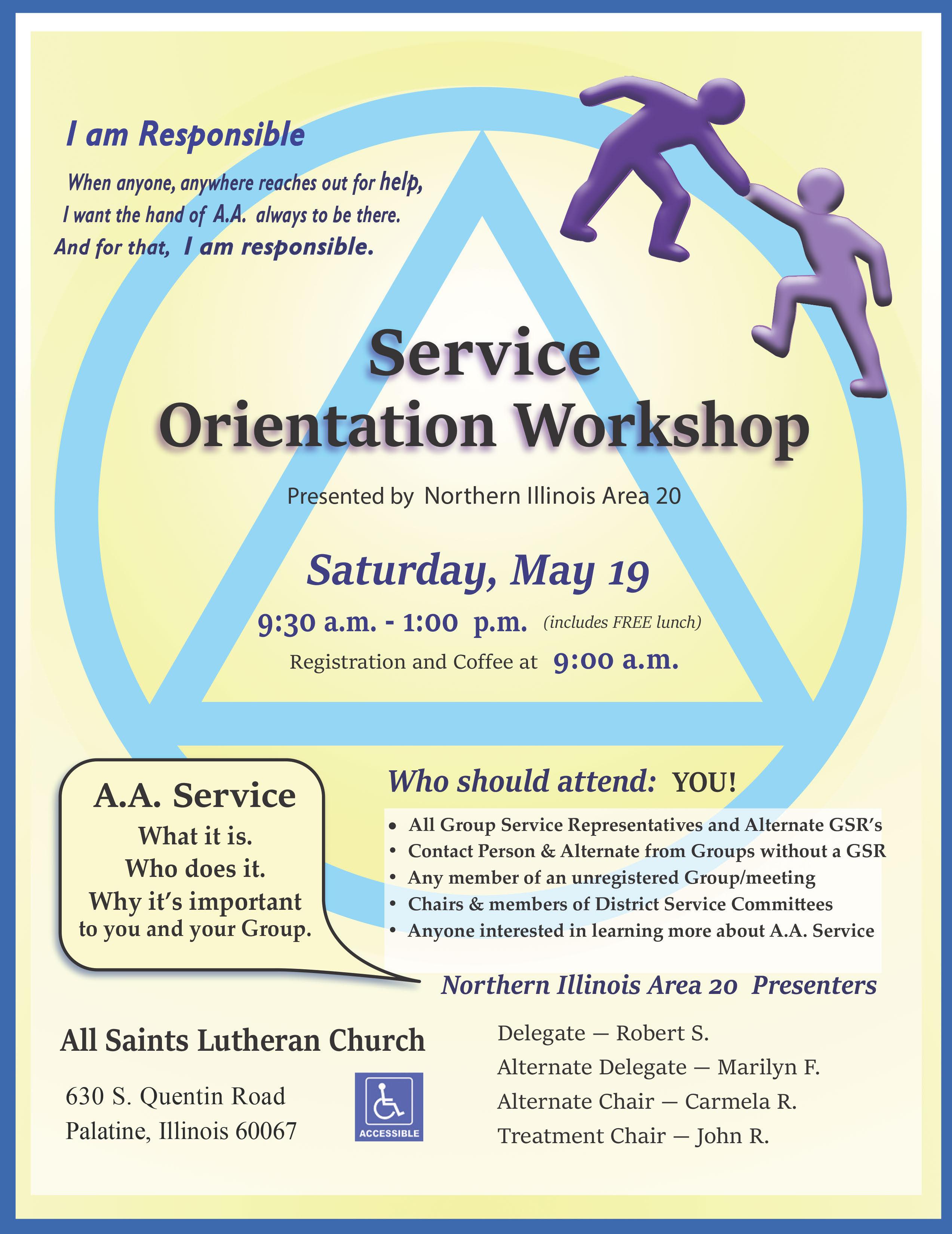 NIA Service Orientation Workshop 1