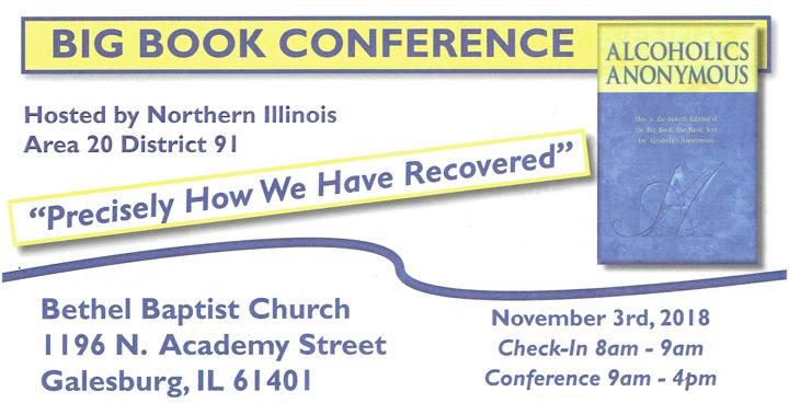 2018 NIA Big Book Conference 1