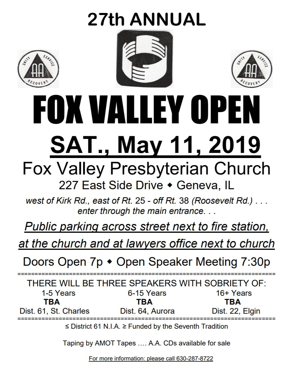 Fox Valley Open 2019 1