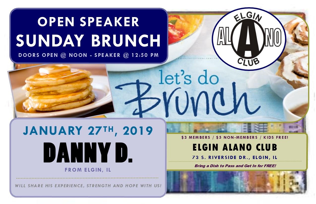 Sunday Open Speaker Brunch - Danny D. 1