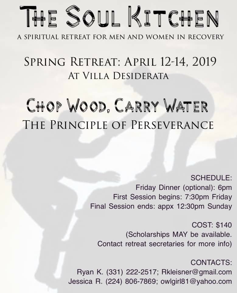 Soul Kitchen Spring Retreat: Chop Wood, Carry Water 1